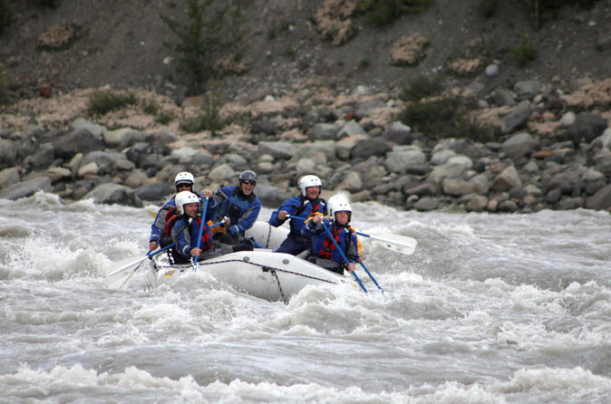 3-4 hr Kennicott Glacier Lake River Raft