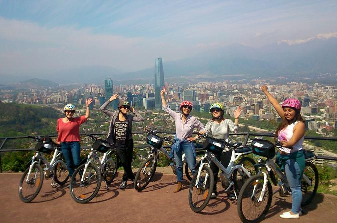 The Parks E-Bike Tour in Santiago