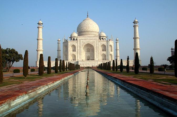 Private Day-Trip: Taj Mahal Mathura And Vrindavan From Delhi