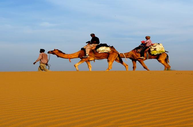 Jaisalmer 3-Day Private Tour from Jodhpur including Camel Ride