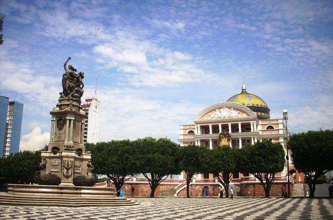 Excursão particular: cidade histórica de Manaus