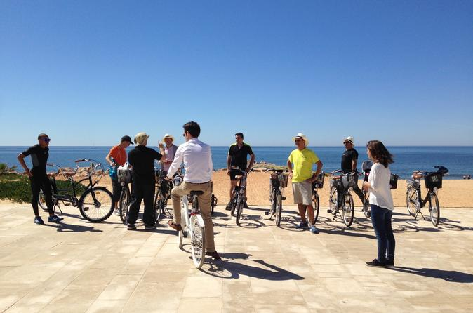 Vilamoura to quarteira bike tour in quarteira 210565