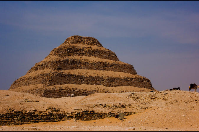Day Trip to Giza and Saqqara from Sharm