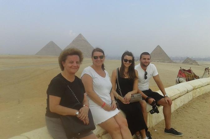 Giza Pyramids and Sphinx Tour from Cairo Airport