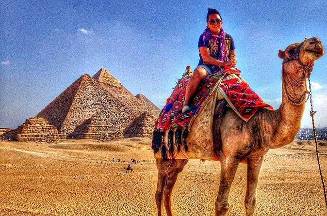 Giza Saqqara and Memphis Guided Day Tour from Cairo