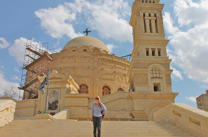 Half-Day Private Tour of Coptic Cairo Including Saint Simon Church in Moqqatam