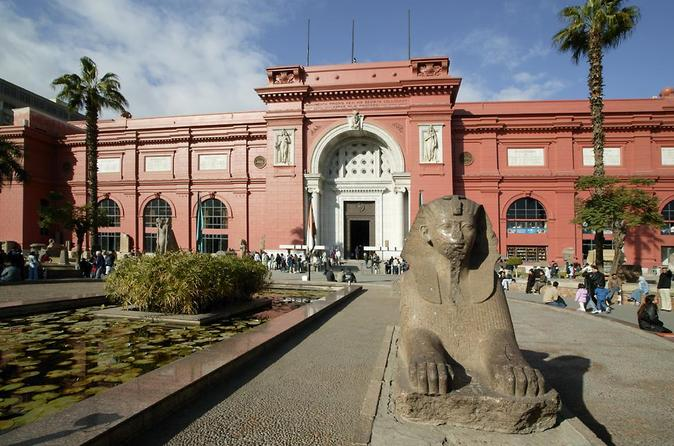 Private full day tour to Egyptian museum Hanging Church Alabaster mosque and Khan el Khalili Bazaar