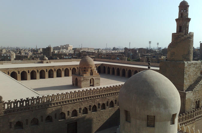 Private Guided Tours to the Mosques of Sultan Hassan Rifa'i and Ibn Tulun in Cairo