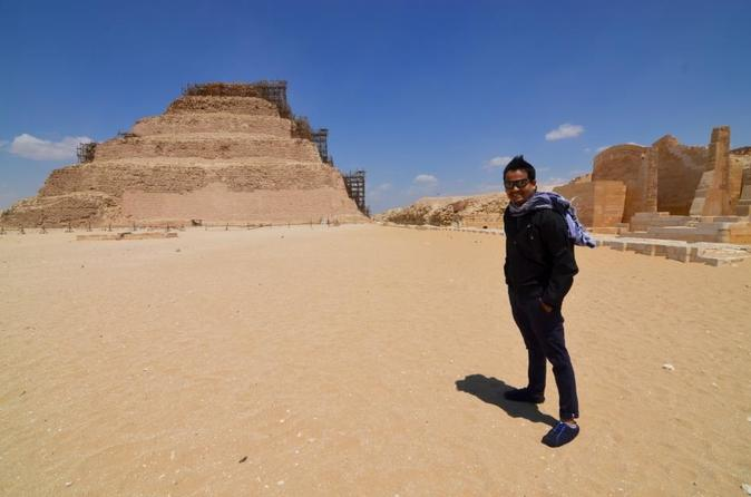 Saqqara Highlights: Private Guided Day Tour from Cairo
