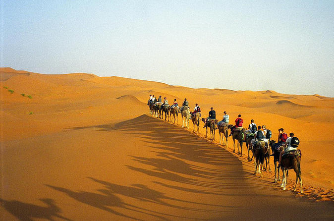 Overnight Desert Trip from Marrakech with Camel Ride