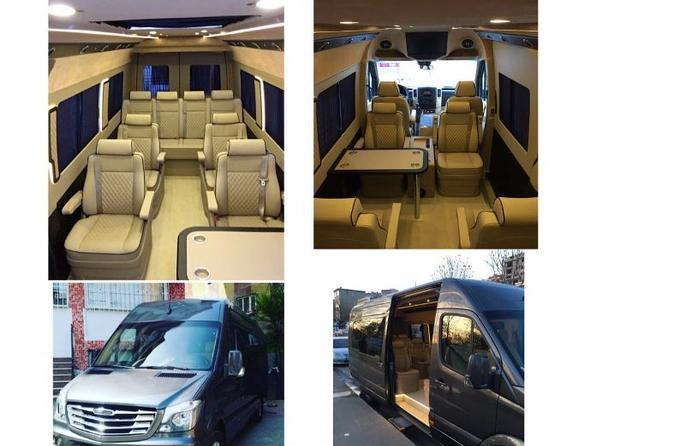 Istanbul Ataturk Airport Luxury Private Arrival Transfer With Ultra VIP Mercedes Sprinter