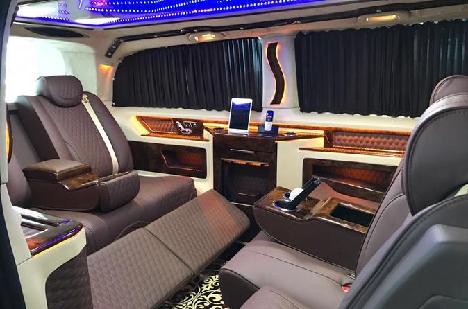 Istanbul Ataturk Airport Luxury Private Transfer Service With Ultra VIP Mercedes Vito