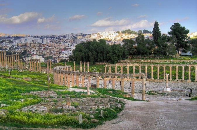 Private Tour: Jerash Half Day Tour from Dead Sea