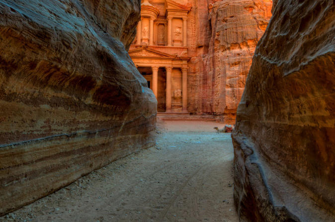 Private Tour: Petra Day Trip with Lunch from Ma'in Spa Hotel