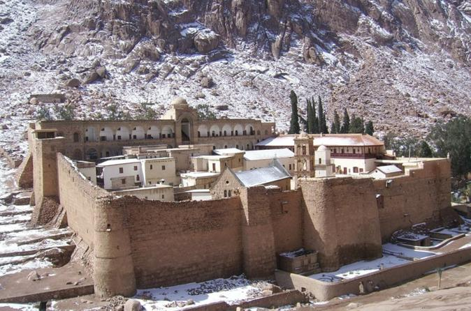 Shore Excursion: 3-Night Taba Tour Including Cairo and St. Catherine's Monastery