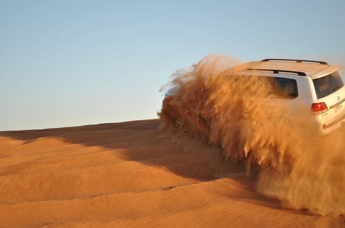 4x4 Deluxe Desert Safari in Abu Dhabi with BBQ Dinner United Arab Emirates, Middle East