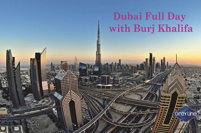 Dubai full day with Burj Khalifa from Dubai 2019