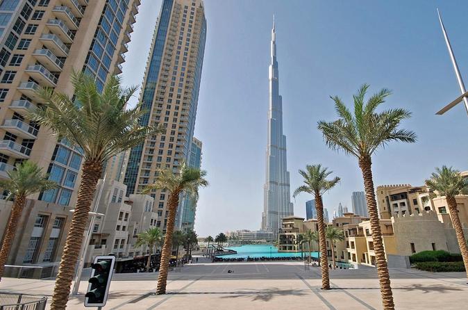 Excursão por Dubai, incluindo entrada para o 124º andar do Burj Khalifa, saindo de Abu Dhabi