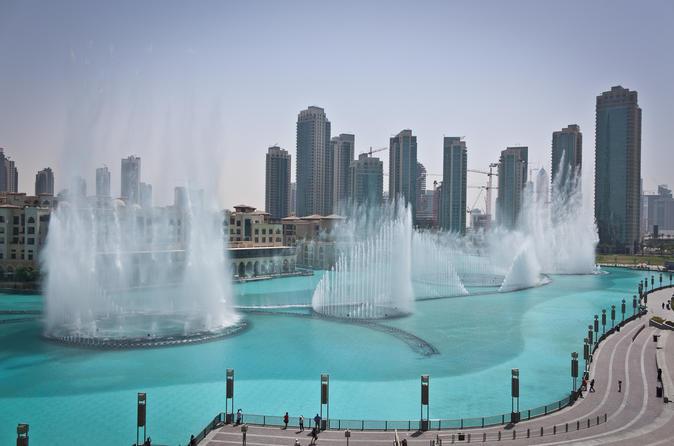Excursão de dia inteiro por Dubai com almoço nas fontes - Abu Dhabi