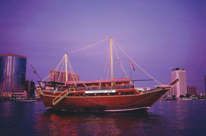 Moonlit Dhow Cruise Dinner From Dubai