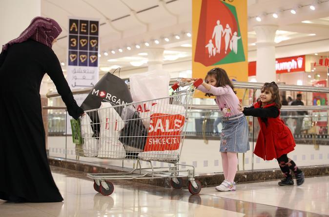 Shopping tour Dubai