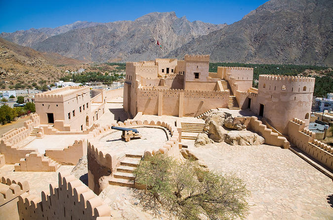 The North & Nakhl Half Day Tour from Muscat