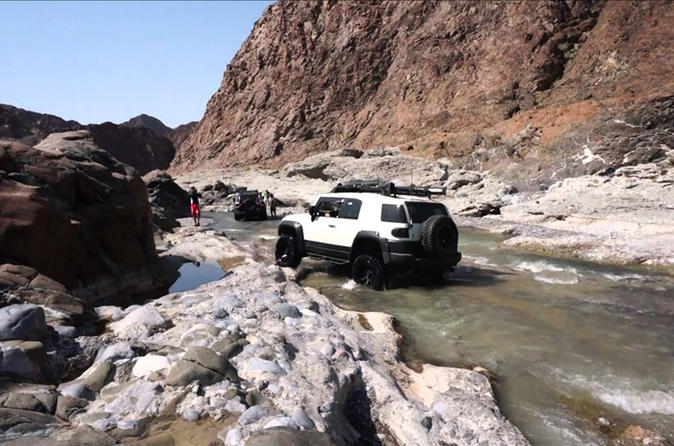 Wadi Al Abyadh by 4x4 Full Day Private Tour from Muscat
