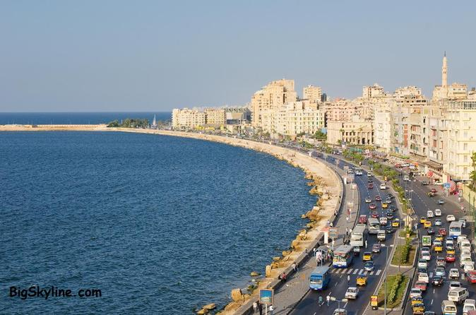 Excursão de dia inteiro particular em Alexandria com guia da excursão saindo do Cairo