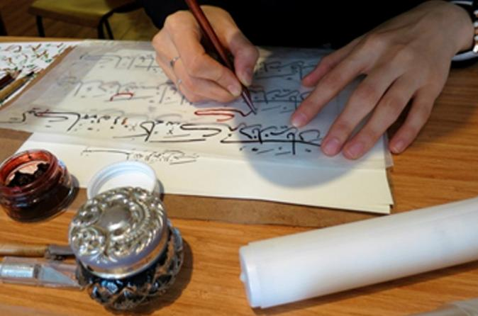 Turkish Calligraphy Workshop in Istanbul