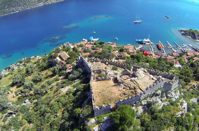 3 nights 4 days gulet charter from kas to kekova in ka 194892