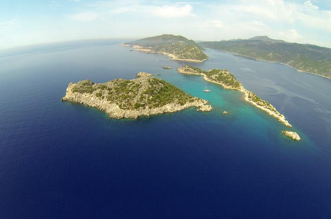 Private boat tour to kas islands including bbq lunch in ka 194791
