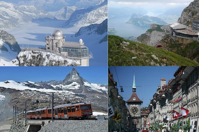 best Swiss package tour: 4 days with private tourguide including hotel