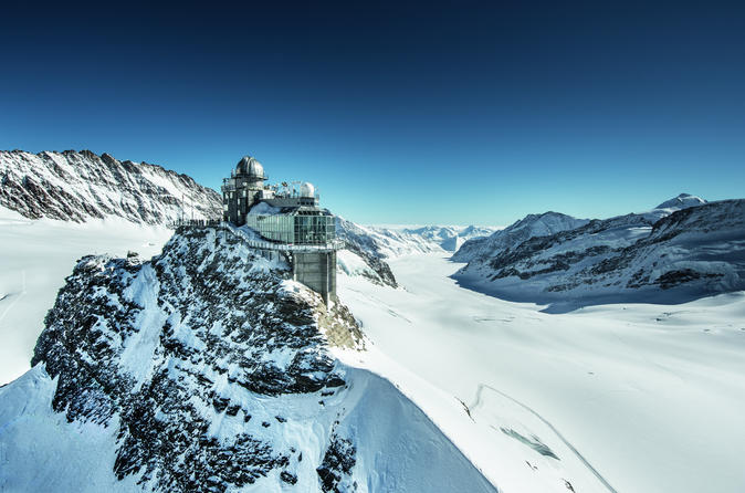 Private Guided Tour to Jungfraujoch from Interlaken Including Visit to Wengen