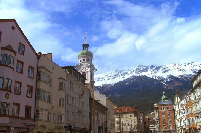Private Innsbruck day tour with afternoon options Swarowski or Nordkette