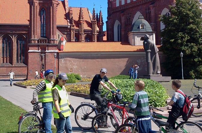 Vilnius city bike tour in vilnius 194209