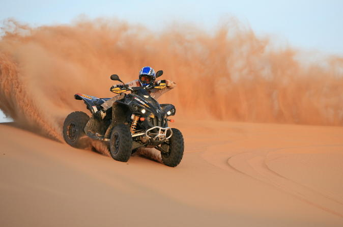 Bild 2-stündige Quad-Tour in Dubai (Kreuzfahrt-Ausflug)