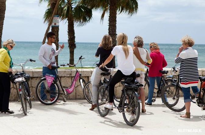 Highlights and Treasures of Malaga City Bike Tour