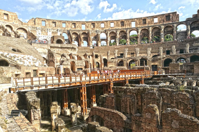 Gladiator S Arena And Colosseum Underground Tour 2019 Rome