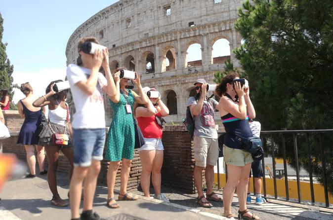 Immersive 3D Tour of Rome Ancient City and Colosseum