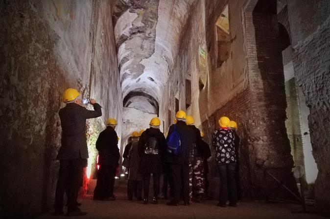 Nero's Palace Tour with Colosseum and Ancient City Tours