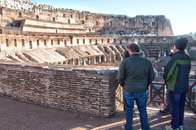 Skip the line: Colosseum Private Tour
