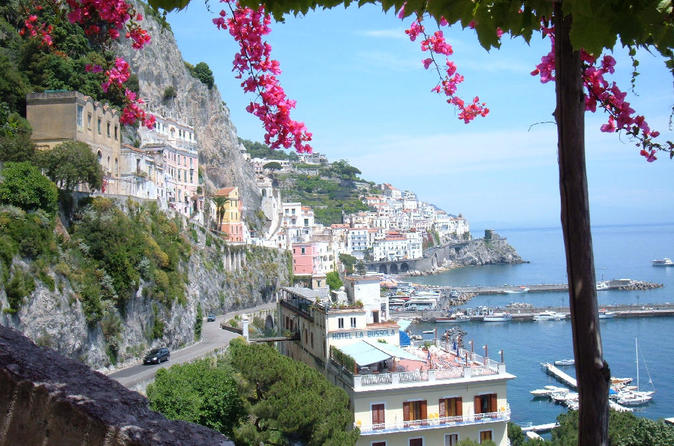 Full-Day Pompeii and Amalfi Coast from Rome