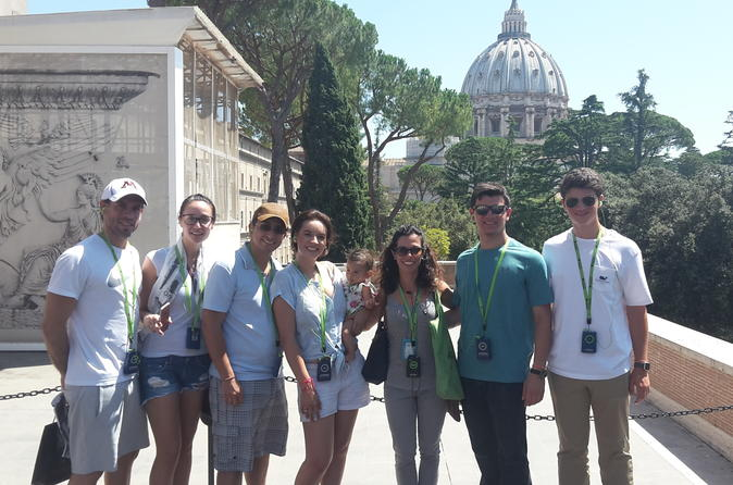 Vatican Museum and Sistine Chapel and San Peter's Basilica