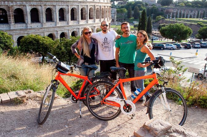 Rome Bike Tour: Italian Food Experience