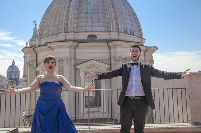 Open air Opera concert in Rome