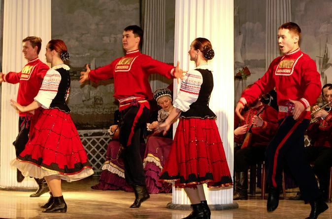 Russian National Folklore Show in Nikolayevsky Palace