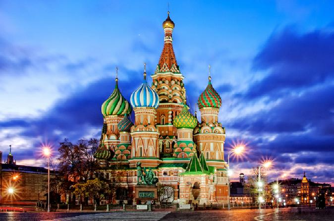 Saint Basil's Cathedral Early Opening Private Tour