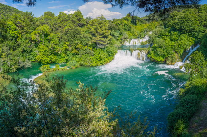 Small-Group Tour to Krka Waterfalls from Trogir