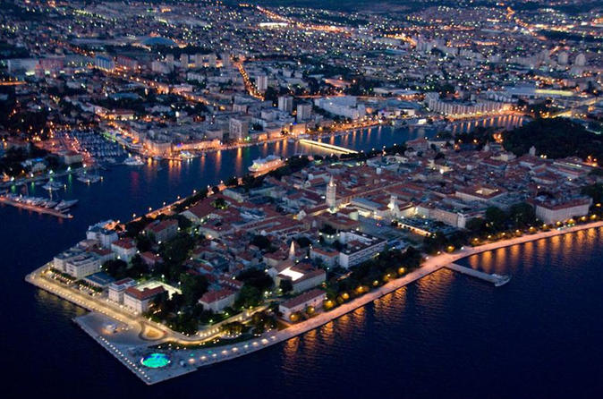 Zadar Evening Tour from Trogir and Split