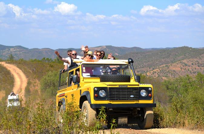 Full day algarve jeep safari in albufeira 188366